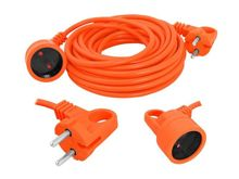 2-core garden extension cord 2x1mm 25m