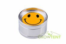 3-part Smileys metal grinder