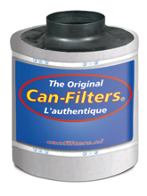 Carbon filter Can Original 333 350-400 m3 / h 150mm