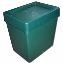 Complete tank with cover and grommet 30L Green