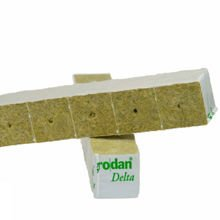 Cubes of mineral wool 4x4x4 cm 15 pieces Grodan