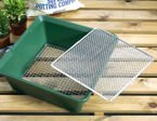 Garland Garden Sieve for 2-in-1 composting soil screen - interchangeable eyelets