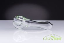 Glass tube with a spoon of 10cm