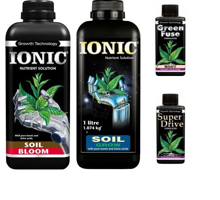 Growth Technology Ionic Starter Set - Growth and Flowering Starter Kit