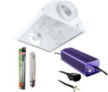 HPS 600W PRO set - ventilated reflector + electronic power supply + Oscar HPS lamp
