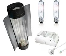 HPS Cultilite Son-T Agro 150W + power pack + Cooltube 125mm + MH 150w