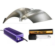 Lighting set HPS Lumatek Dual 600W + power supply el. + Adjust-A-Wing 100x70cm