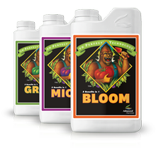 MICRO BLOOM GROW 3x5L set with pH perfect formula