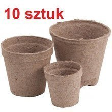 Peat pots Jiffy Pot for seedlings - 10 pcs, 10x9 cm