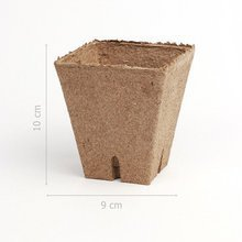 Peat pots Jiffy Pot for seedlings - 10 pcs, 8x8 cm