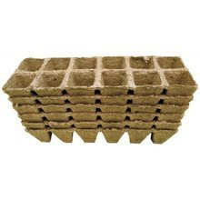 Peat pots Jiffy Pot for seedlings - 3,5x5cm 100pcs tray (12 pots)