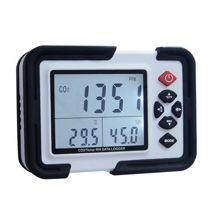 Professional portable meter / monitor of Co2 concentration, temperature and humidity