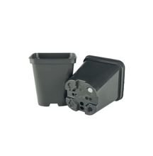 Square production pot high 0.5L 9x9x10cm