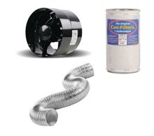 Ventilation kit Can-Filters | Black Orchid 100 mm 105m3 / h