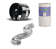 Ventilation kit Can-Filters | Black Orchid 125 mm 200m3 / h