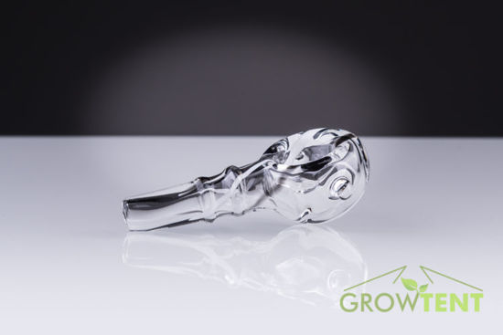 Glass smoking pipe tobacco bowl 4,5cm
