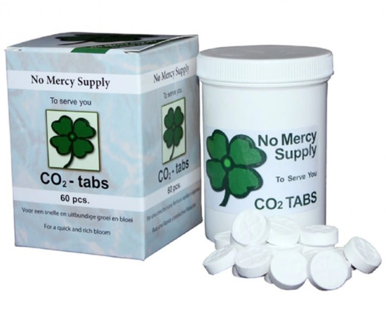 NO MERCY CO2 tablets 60 PCs