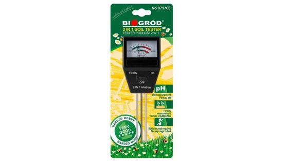 pH meter for soil / fertility acid meter