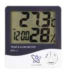 Weather station humidity meter thermometer